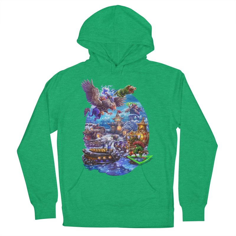 ZugZug Men's Pullover Hoody by dustinlincoln's Artist Shop