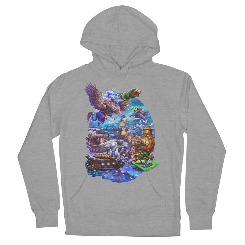 ZugZug Men's French Terry Pullover Hoody by dustinlincoln's Artist Shop