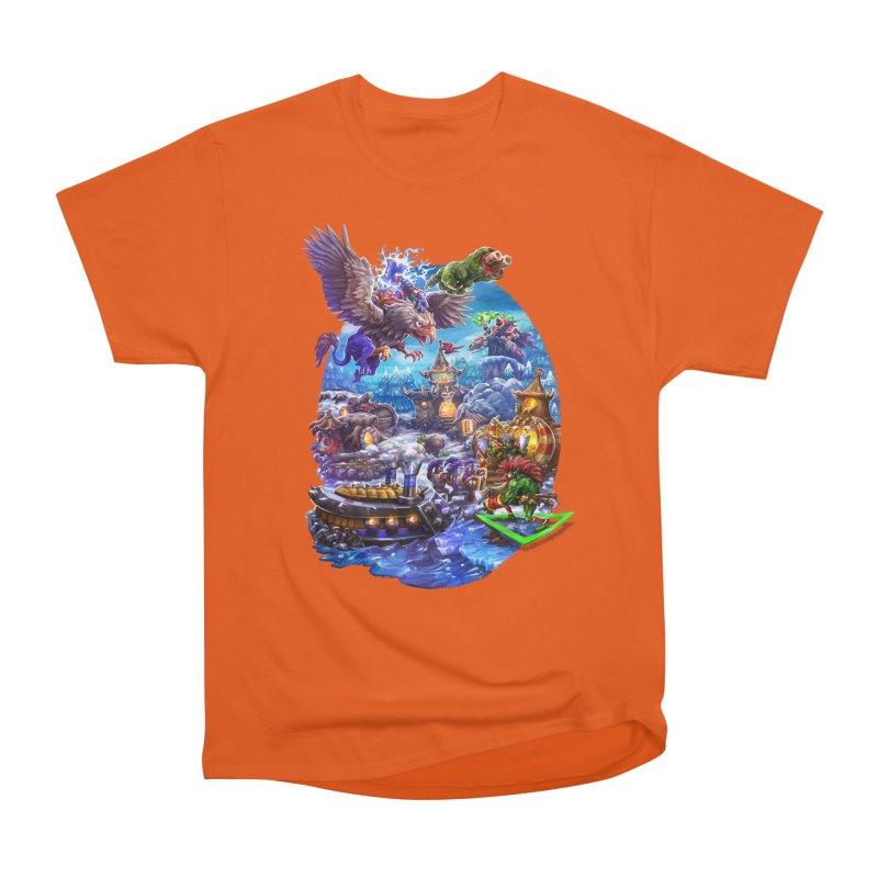 ZugZug Men's Heavyweight T-Shirt by dustinlincoln's Artist Shop