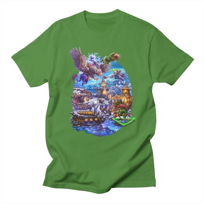 ZugZug Men's Regular T-Shirt by dustinlincoln's Artist Shop