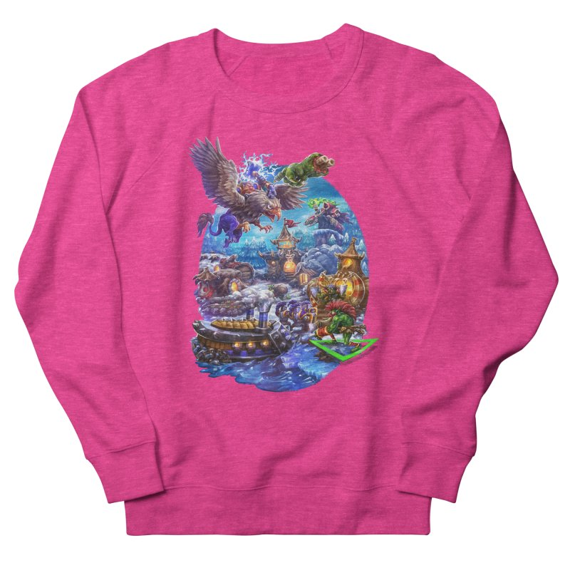 ZugZug Men's French Terry Sweatshirt by dustinlincoln's Artist Shop