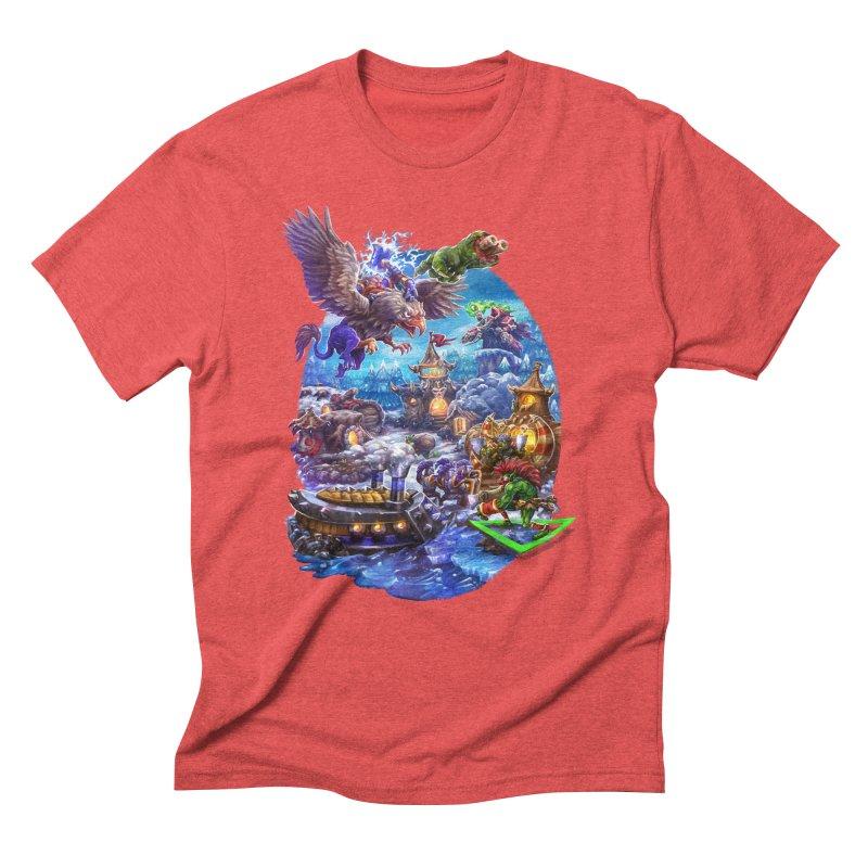 ZugZug Men's Triblend T-Shirt by dustinlincoln's Artist Shop
