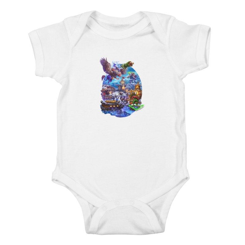 ZugZug Kids Baby Bodysuit by dustinlincoln's Artist Shop