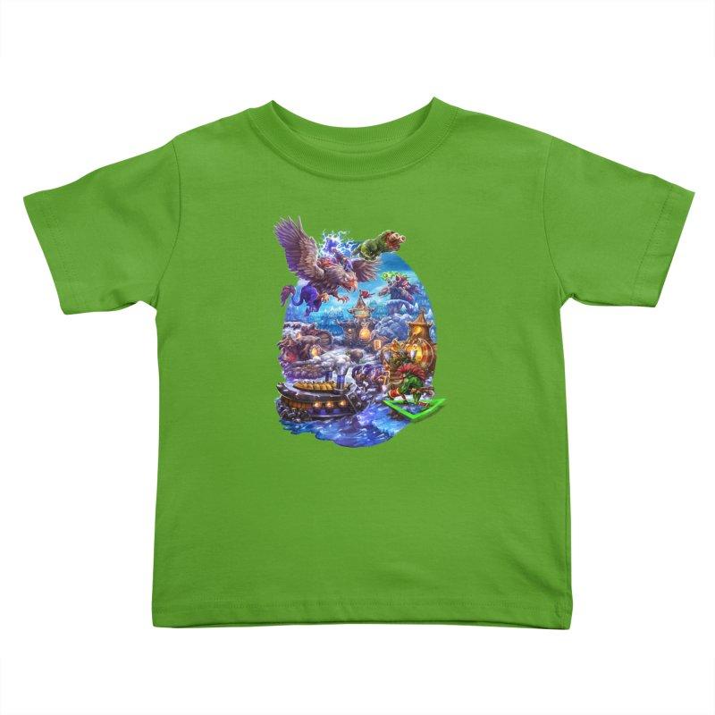 ZugZug Kids Toddler T-Shirt by dustinlincoln's Artist Shop
