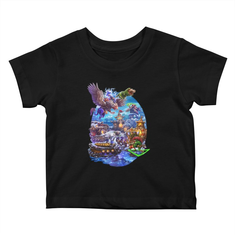 ZugZug Kids Baby T-Shirt by dustinlincoln's Artist Shop