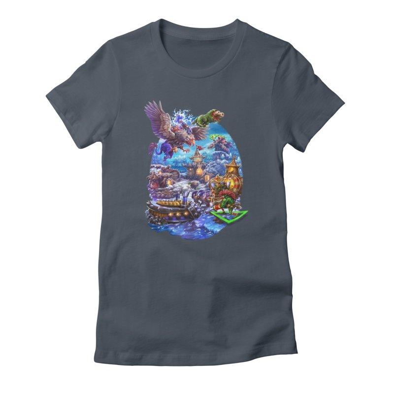 ZugZug Women's T-Shirt by dustinlincoln's Artist Shop