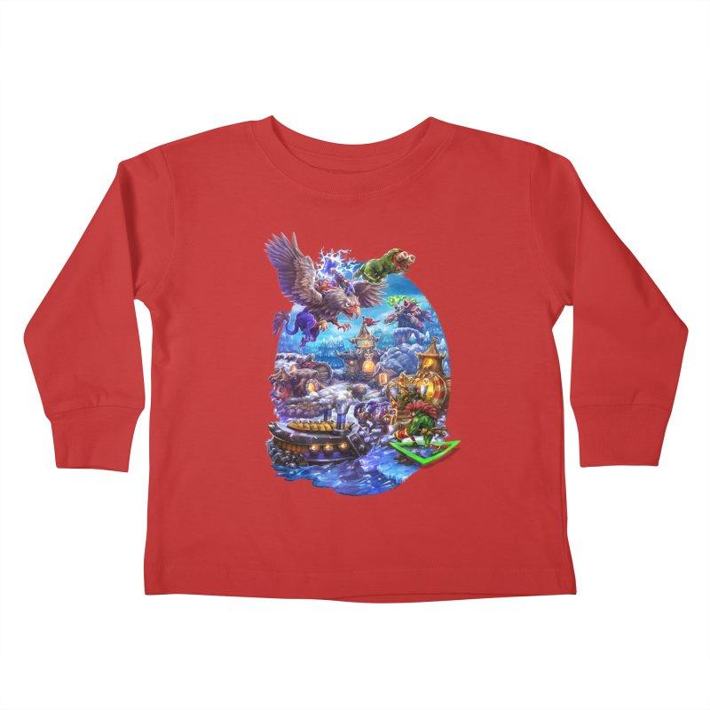 ZugZug Kids Toddler Longsleeve T-Shirt by dustinlincoln's Artist Shop