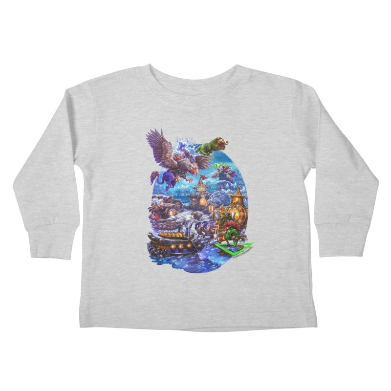 ZugZug Kids Toddler Longsleeve T-Shirt by dustinlincoln's Artist Shop
