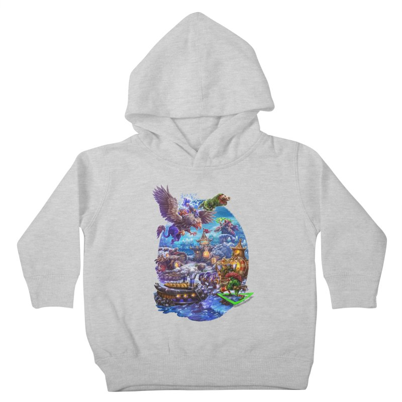 ZugZug Kids Toddler Pullover Hoody by dustinlincoln's Artist Shop