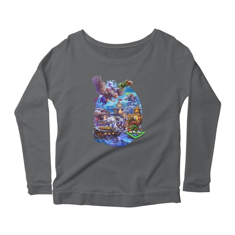 ZugZug Women's Scoop Neck Longsleeve T-Shirt by dustinlincoln's Artist Shop