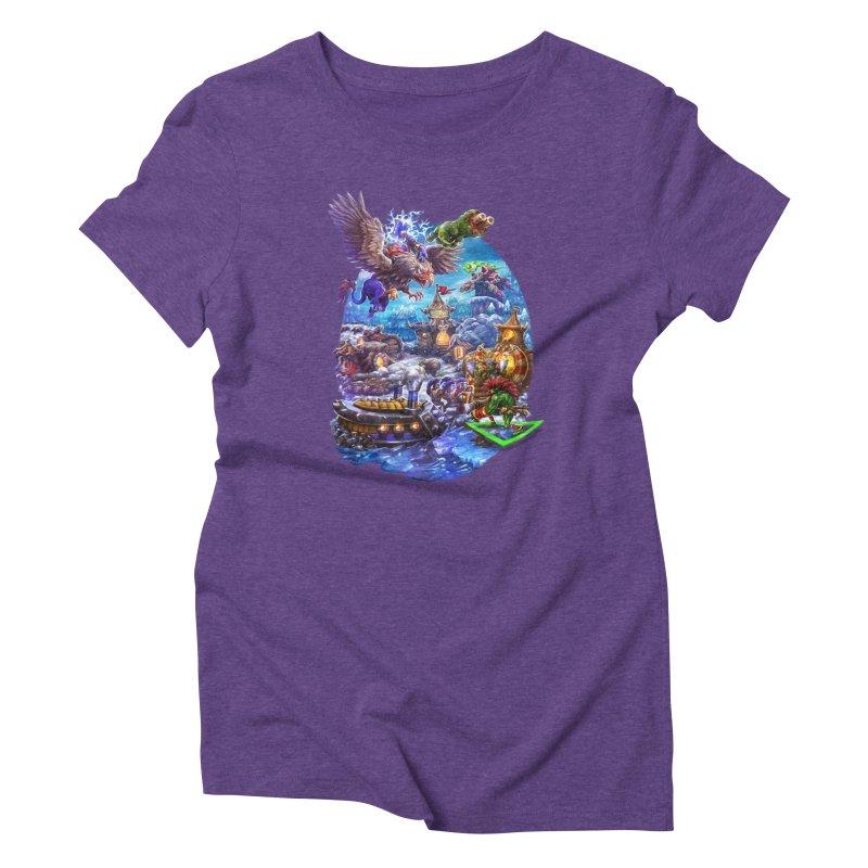 ZugZug Women's Triblend T-Shirt by dustinlincoln's Artist Shop