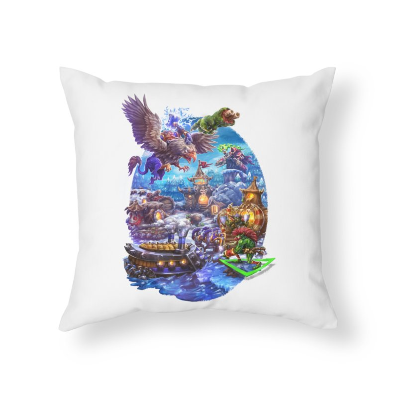 ZugZug Home Throw Pillow by dustinlincoln's Artist Shop