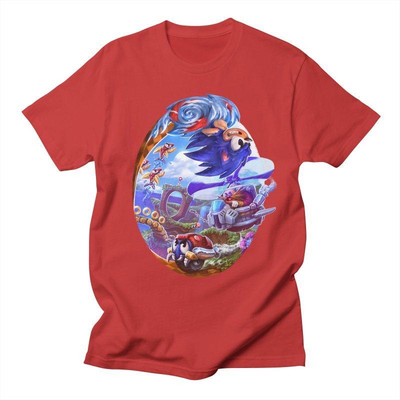 GottaGoFast Men's T-Shirt by dustinlincoln's Artist Shop