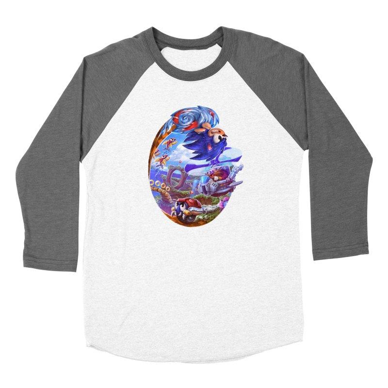 GottaGoFast Women's Baseball Triblend Longsleeve T-Shirt by dustinlincoln's Artist Shop