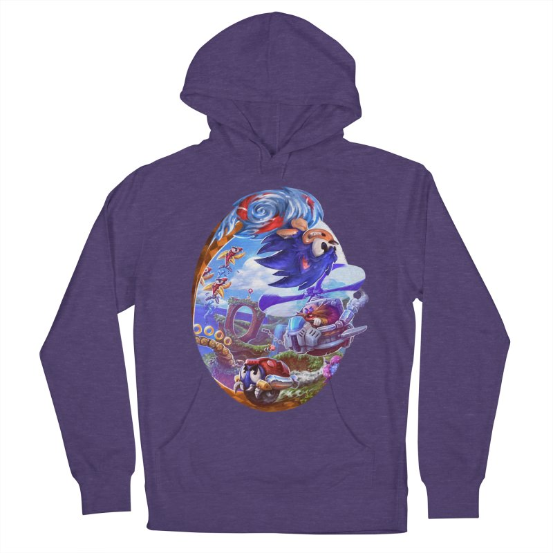 GottaGoFast Women's French Terry Pullover Hoody by dustinlincoln's Artist Shop