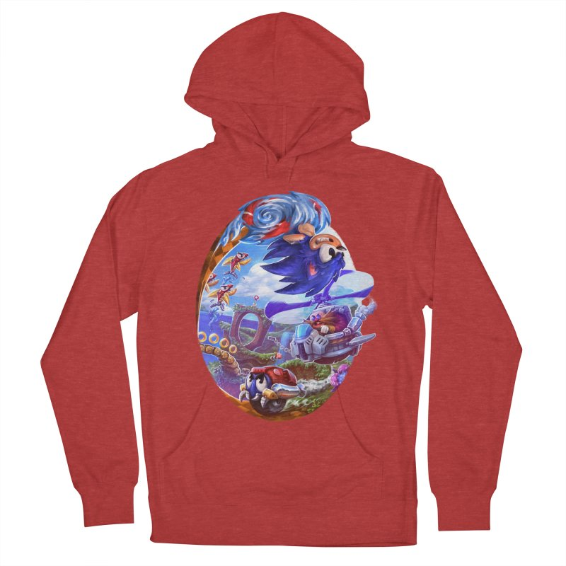 GottaGoFast Men's French Terry Pullover Hoody by dustinlincoln's Artist Shop