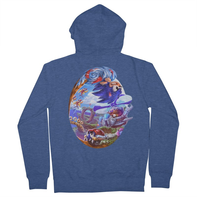 GottaGoFast Women's French Terry Zip-Up Hoody by dustinlincoln's Artist Shop