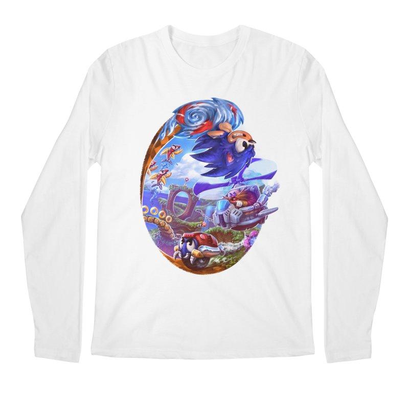 GottaGoFast Men's Regular Longsleeve T-Shirt by dustinlincoln's Artist Shop