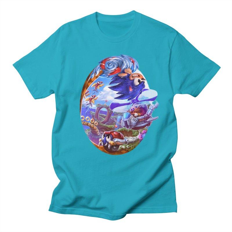 GottaGoFast Men's Regular T-Shirt by dustinlincoln's Artist Shop