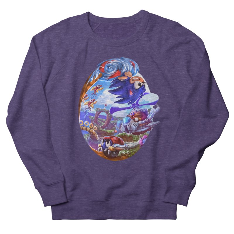 GottaGoFast Men's French Terry Sweatshirt by dustinlincoln's Artist Shop