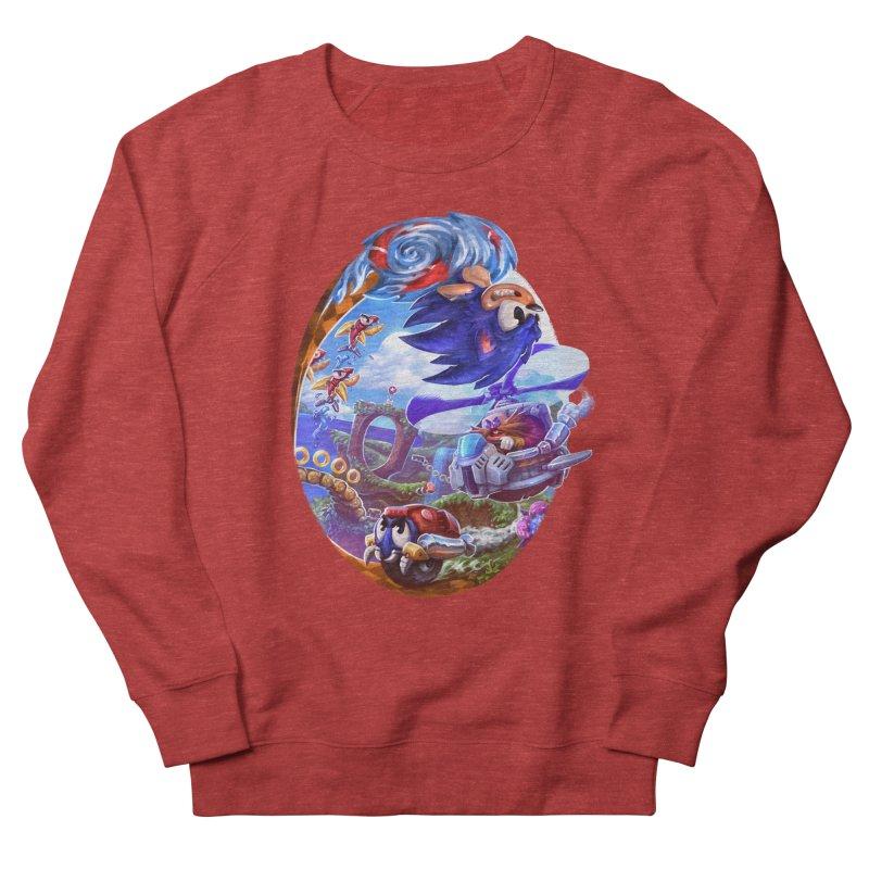 GottaGoFast Men's French Terry Sweatshirt by dustinlincoln's Artist Shop