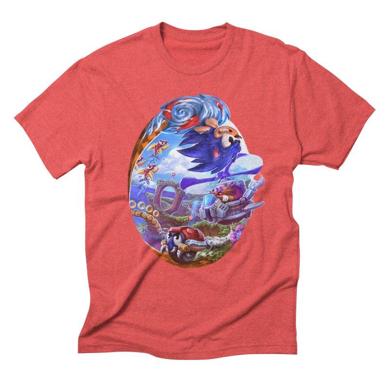 GottaGoFast Men's Triblend T-Shirt by dustinlincoln's Artist Shop
