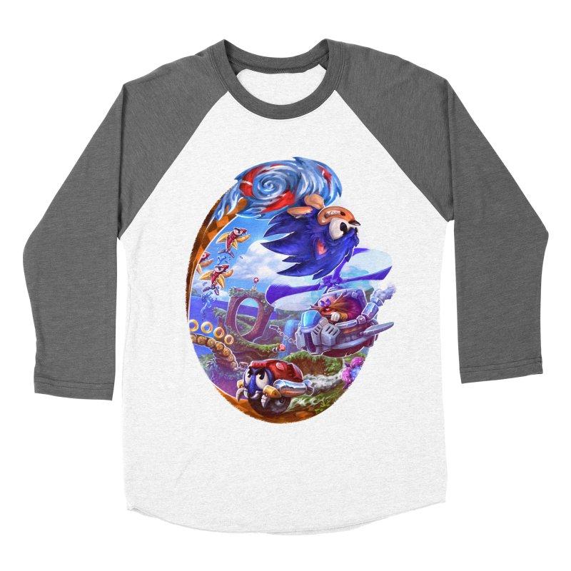 GottaGoFast Men's Baseball Triblend Longsleeve T-Shirt by dustinlincoln's Artist Shop