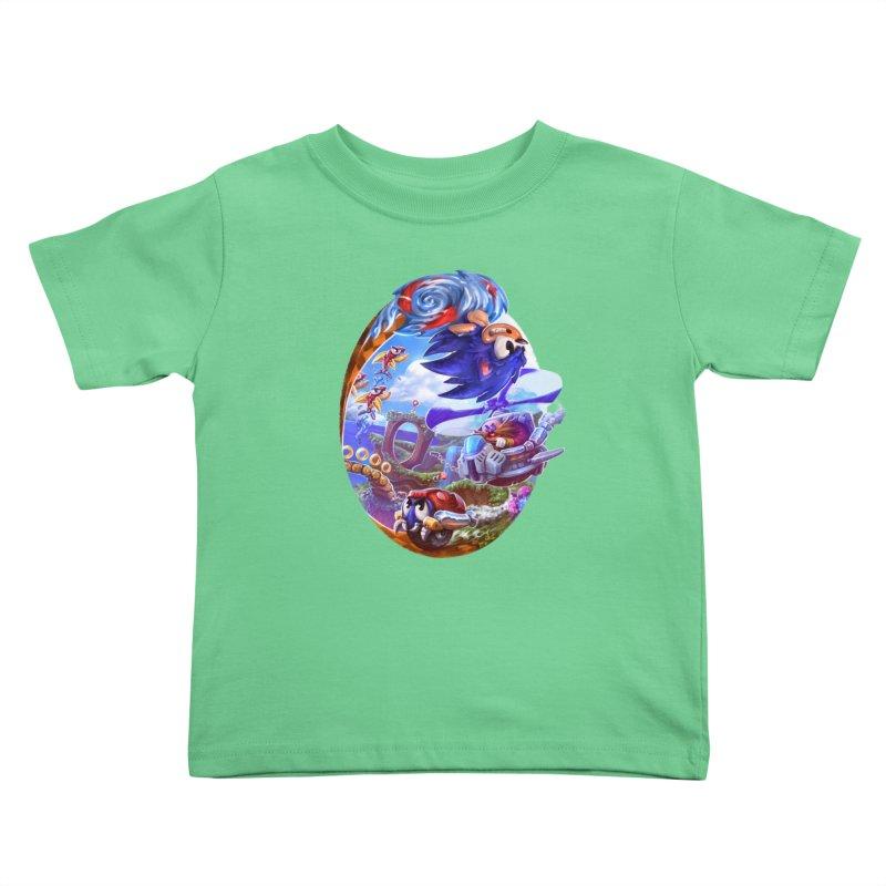 GottaGoFast Kids Toddler T-Shirt by dustinlincoln's Artist Shop