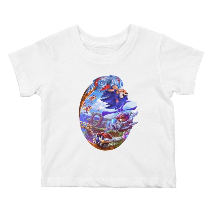 GottaGoFast Kids Baby T-Shirt by dustinlincoln's Artist Shop