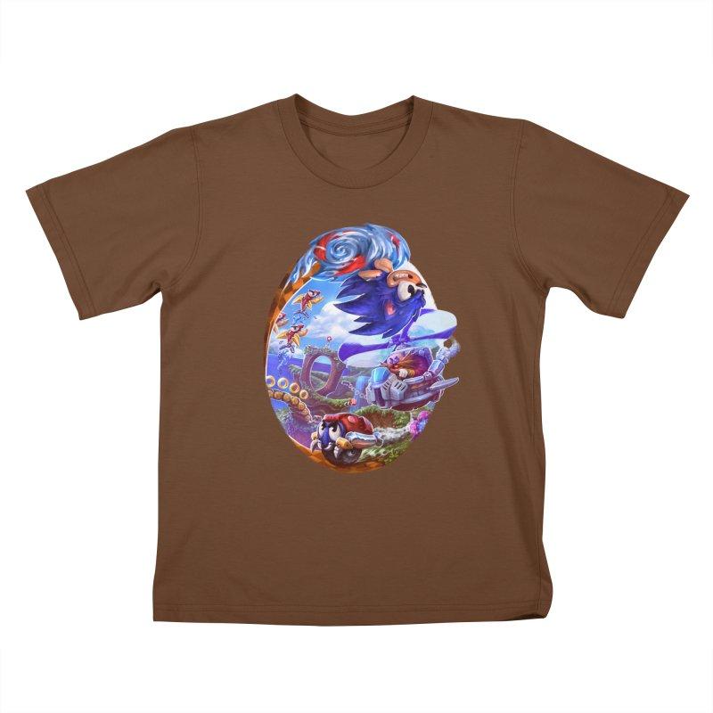GottaGoFast Kids T-Shirt by dustinlincoln's Artist Shop