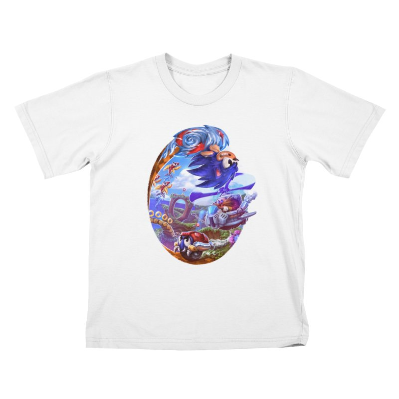 GottaGoFast Kids T-Shirt by dustinlincoln's Artist Shop