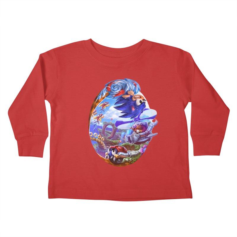 GottaGoFast Kids Toddler Longsleeve T-Shirt by dustinlincoln's Artist Shop