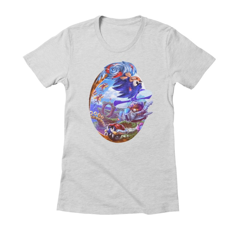 GottaGoFast Women's Fitted T-Shirt by dustinlincoln's Artist Shop