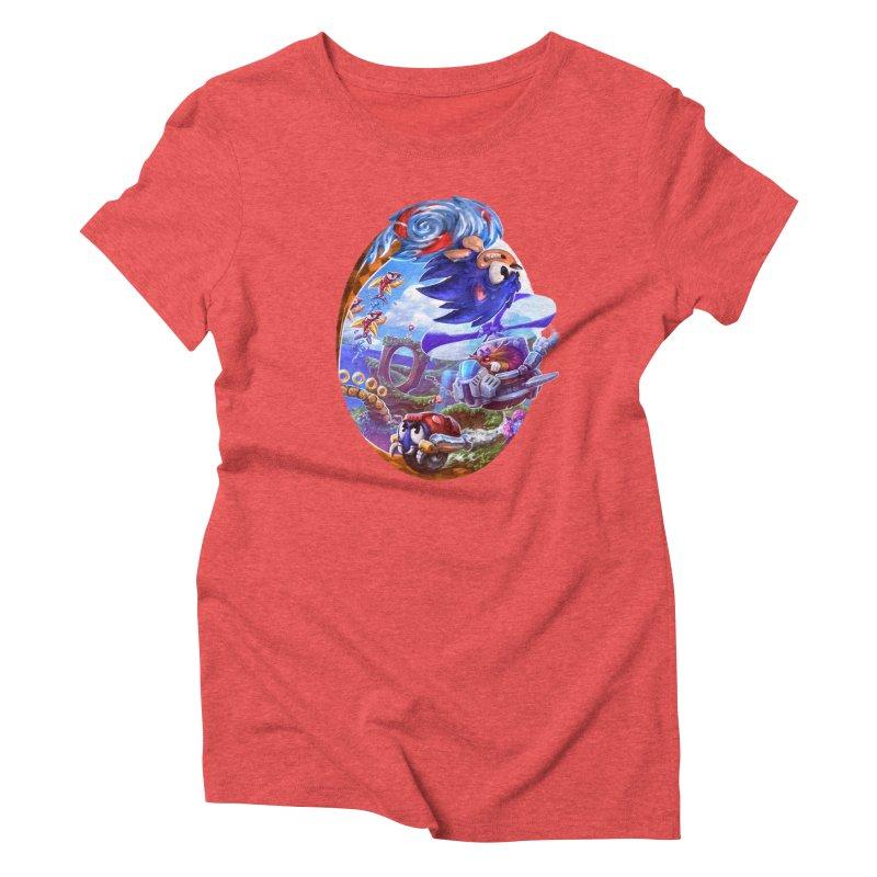 GottaGoFast Women's Triblend T-Shirt by dustinlincoln's Artist Shop