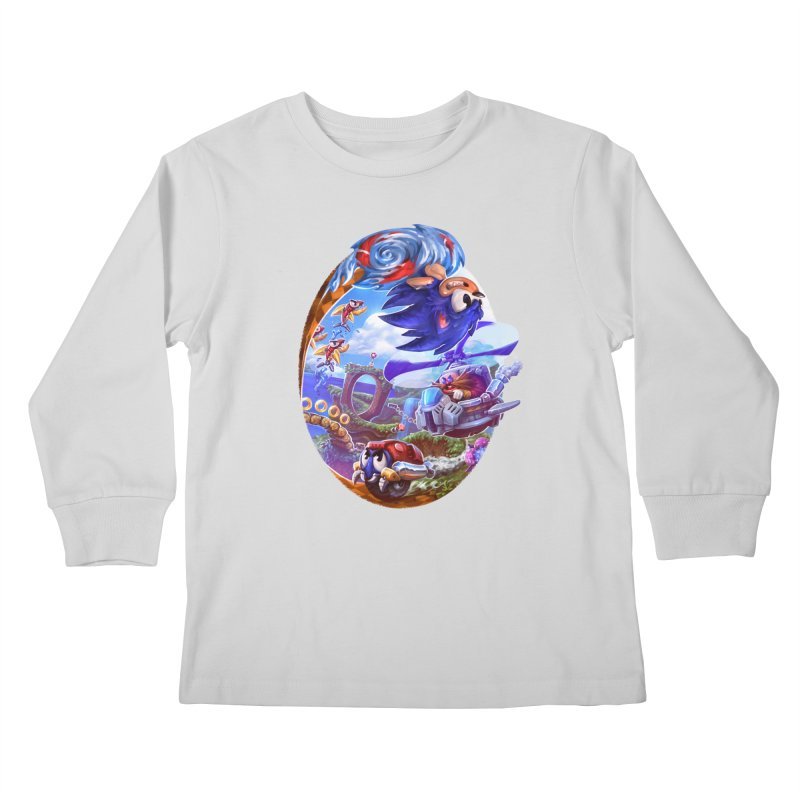 GottaGoFast Kids Longsleeve T-Shirt by dustinlincoln's Artist Shop
