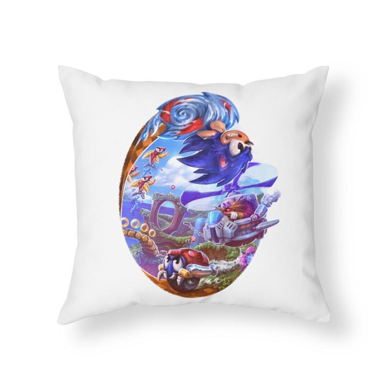GottaGoFast Home Throw Pillow by dustinlincoln's Artist Shop