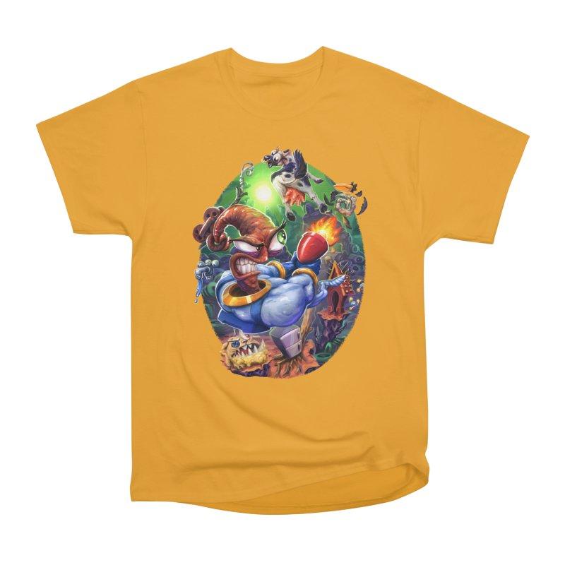 Grooovy! Women's Heavyweight Unisex T-Shirt by dustinlincoln's Artist Shop