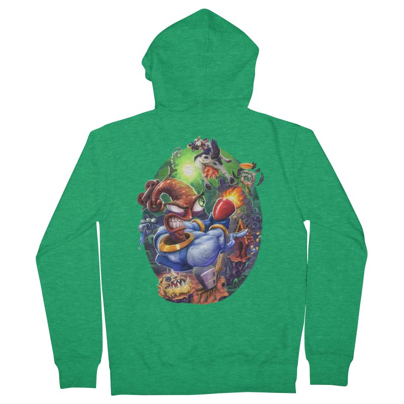 Grooovy! Men's French Terry Zip-Up Hoody by dustinlincoln's Artist Shop