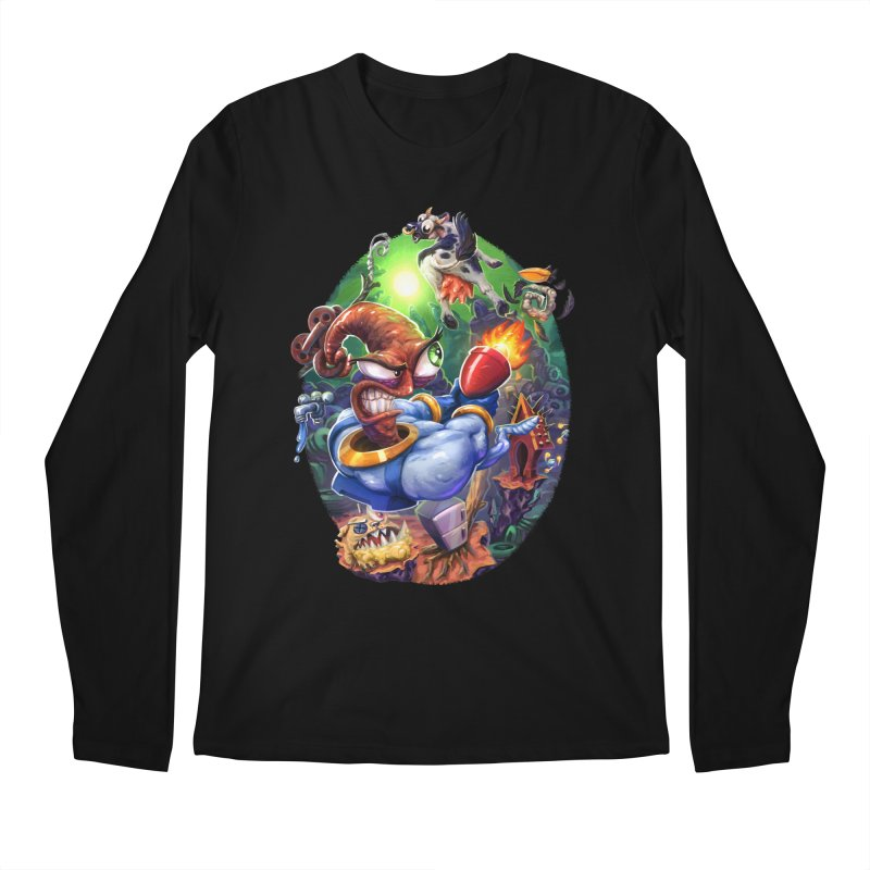Grooovy! Men's Longsleeve T-Shirt by dustinlincoln's Artist Shop