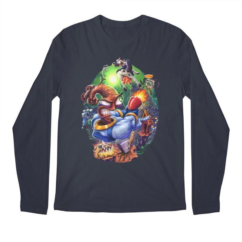 Grooovy! Men's Longsleeve T-Shirt by dustinlincoln's Artist Shop