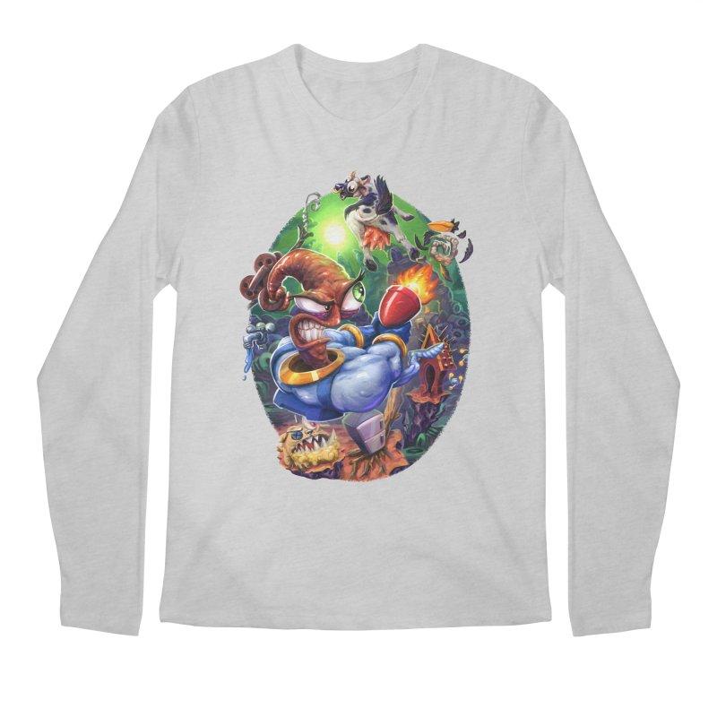 Grooovy! Men's Regular Longsleeve T-Shirt by dustinlincoln's Artist Shop