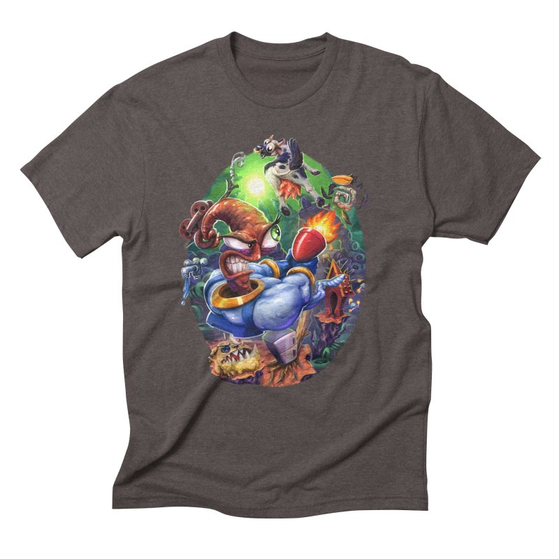 Grooovy! Men's Triblend T-Shirt by dustinlincoln's Artist Shop