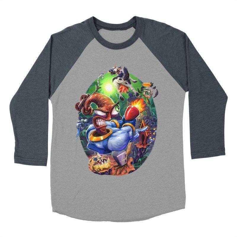 Grooovy! Men's Baseball Triblend Longsleeve T-Shirt by dustinlincoln's Artist Shop