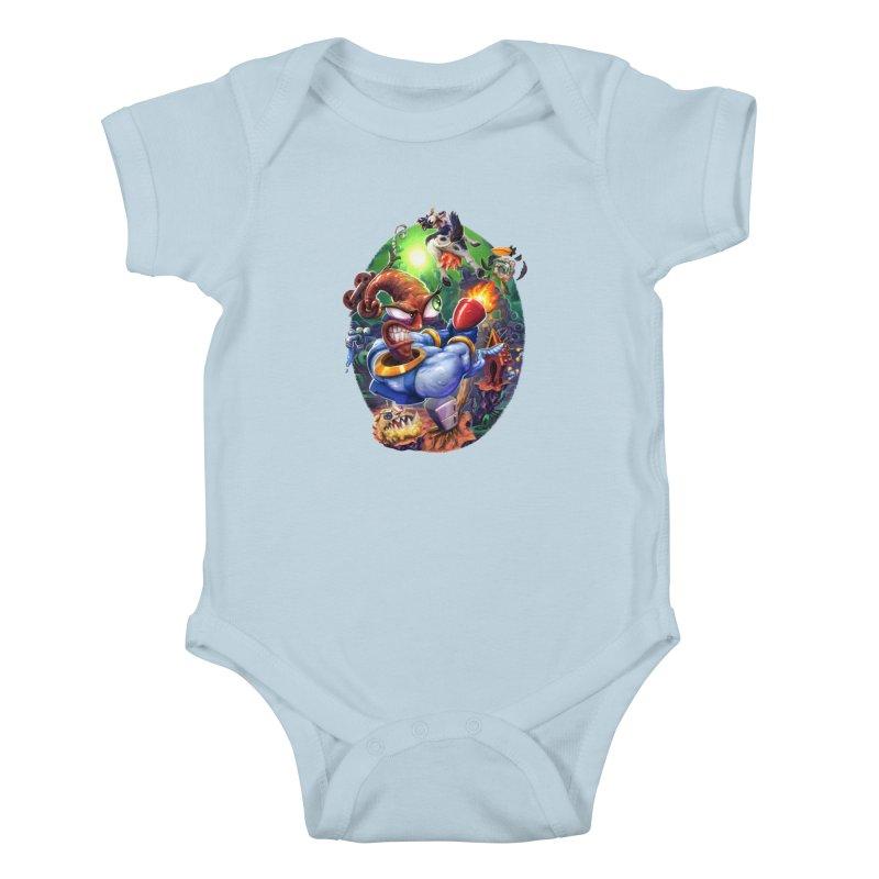 Grooovy! Kids Baby Bodysuit by dustinlincoln's Artist Shop