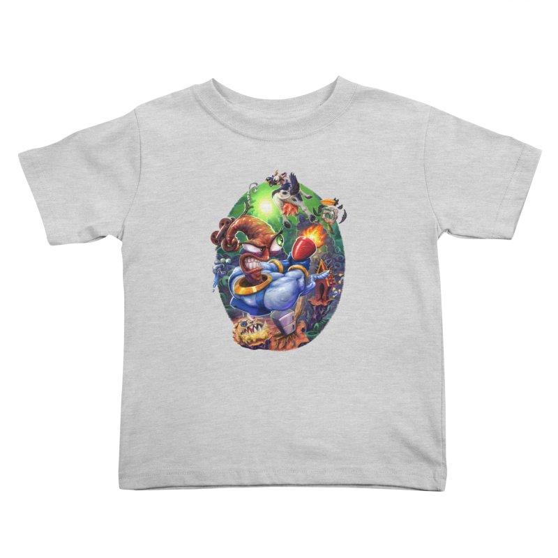 Grooovy! Kids Toddler T-Shirt by dustinlincoln's Artist Shop