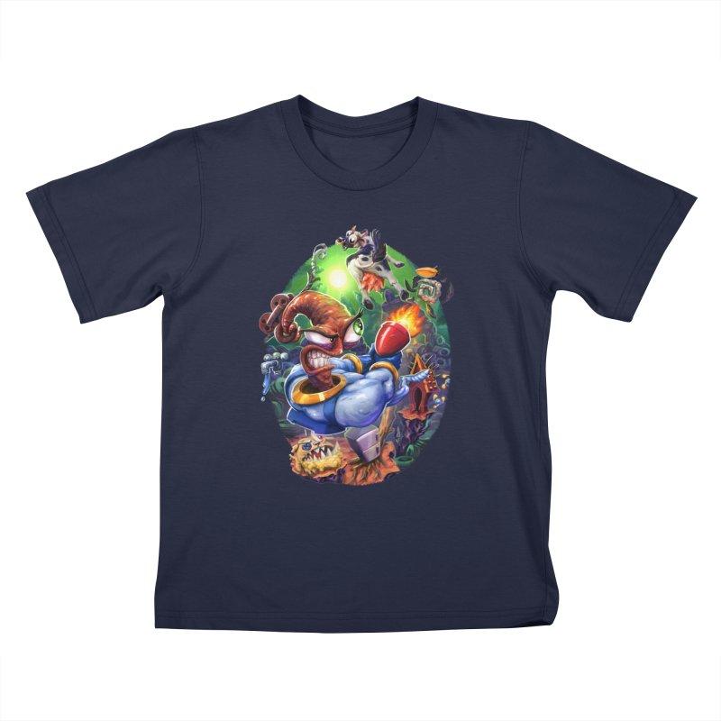 Grooovy! Kids T-Shirt by dustinlincoln's Artist Shop