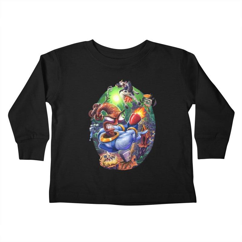 Grooovy! Kids Toddler Longsleeve T-Shirt by dustinlincoln's Artist Shop