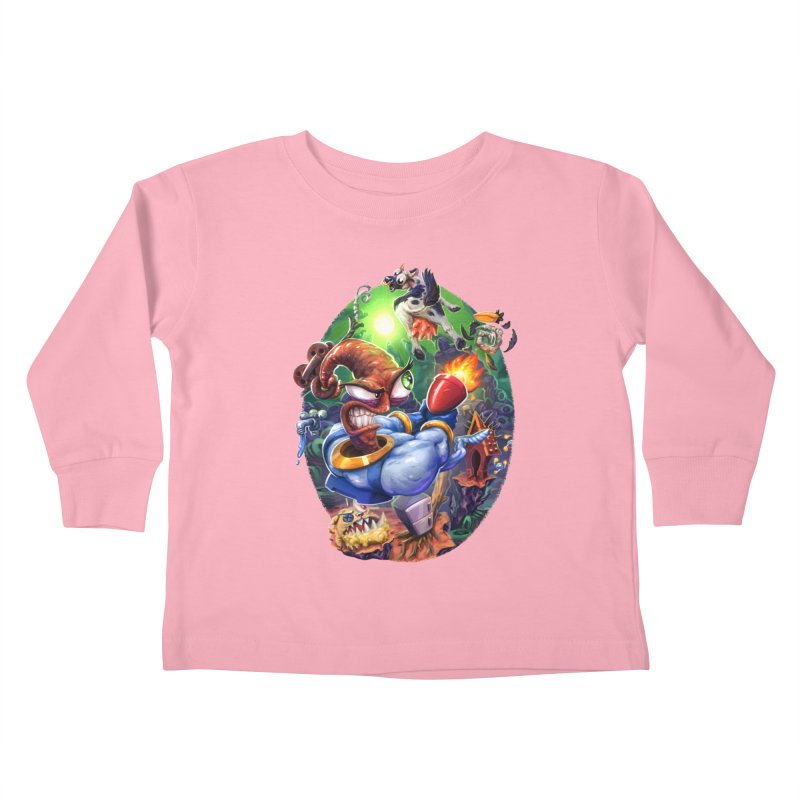 Grooovy! Kids Toddler Longsleeve T-Shirt by dustinlincoln's Artist Shop