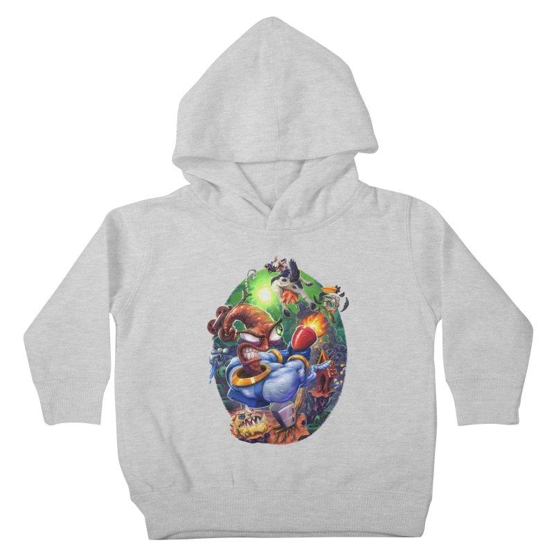 Grooovy! Kids Toddler Pullover Hoody by dustinlincoln's Artist Shop