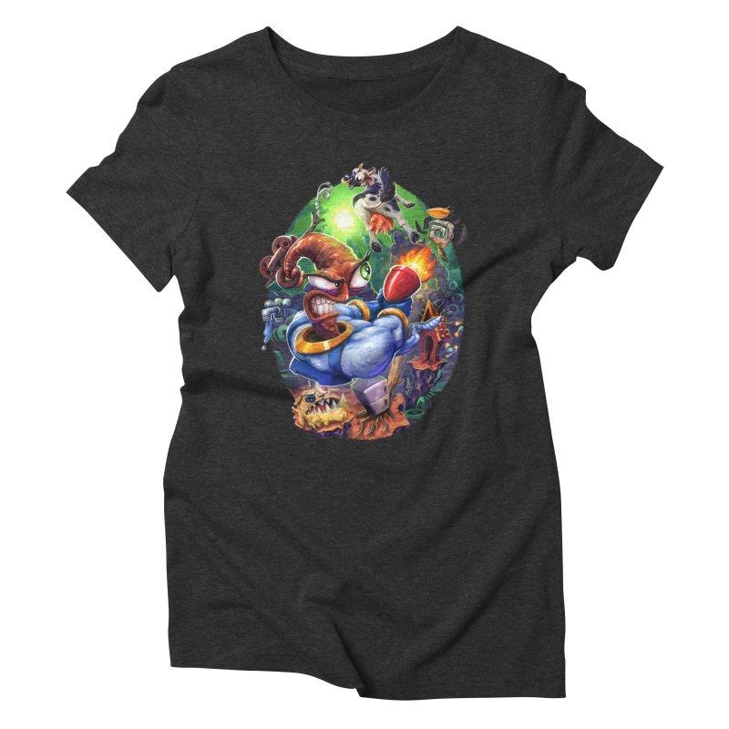 Grooovy! Women's Triblend T-Shirt by dustinlincoln's Artist Shop